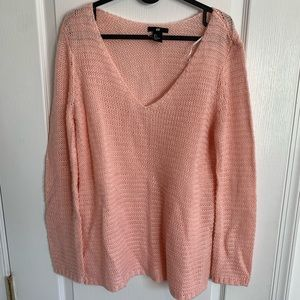 Pink H&M sweater oversized